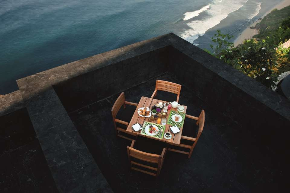 The Sangkar Restaurant In Bali Bvlgari Resort Bali