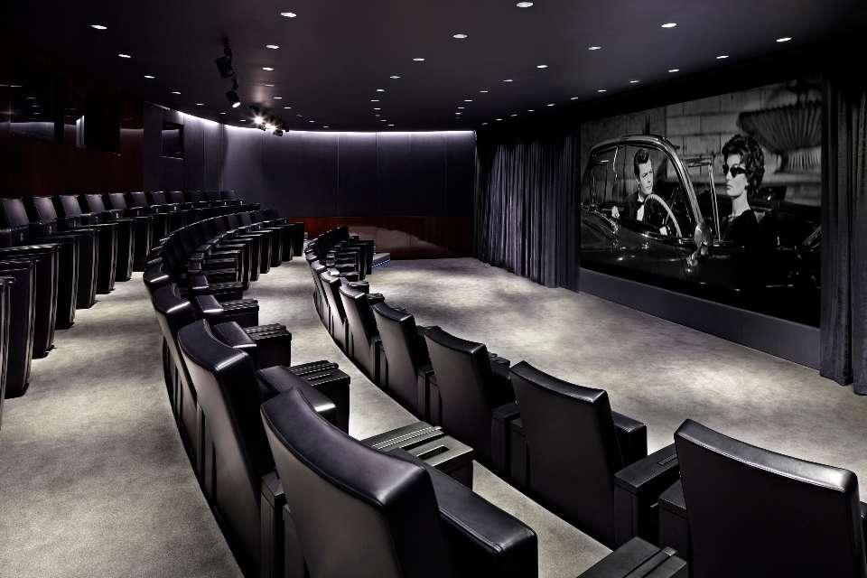 Private Cinema In London Room For Luxury Hotel Bvlgari