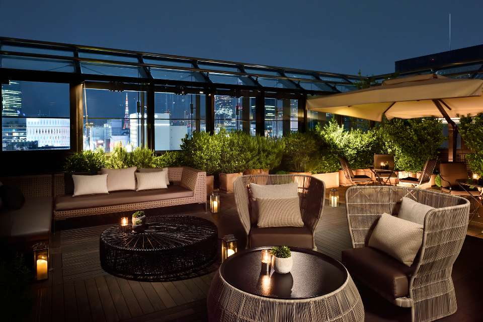 Lounge Bar Terrace Dom Pérignon in Tokyo | Bvlgari Tokyo Osaka ...