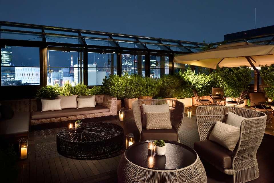 Lounge Bar Terrace Dom Pérignon In Tokyo Bvlgari Tokyo