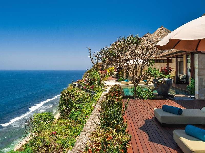 Luxury Villas In Bali Premier Ocean View Villa Bvlgari Resort Bali