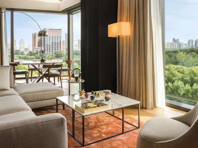 Deluxe Suite at The Bvlgari Hotel Beijing