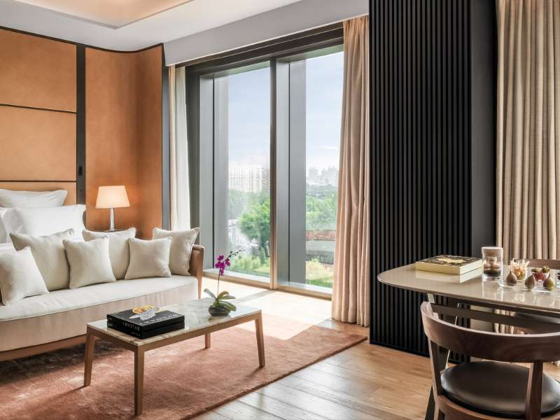 Premium Room at The Bvlgari Hotel Beijing