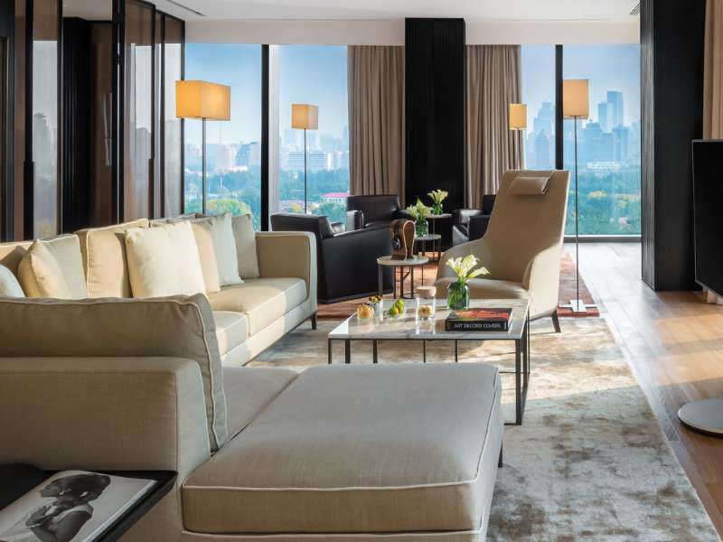 Premium Suite at The Bvlgari Hotel Beijing