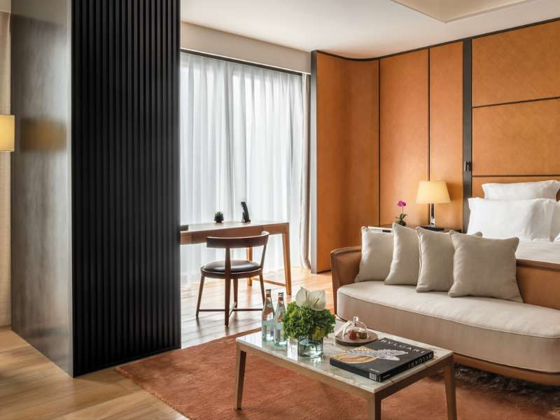 Superior Room at The Bvlgari Hotel Beijing