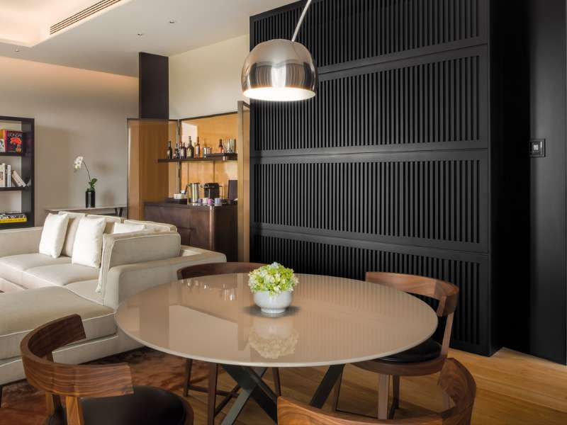 Superior Suite at The Bvlgari Hotel Beijing