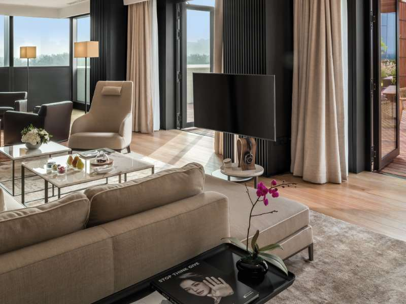 Terrace Suite at The Bvlgari Hotel Beijing