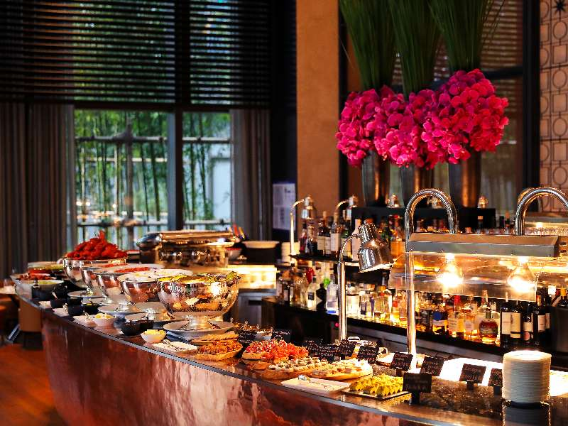 The brunch at The Bvlgari Hotel Beijing