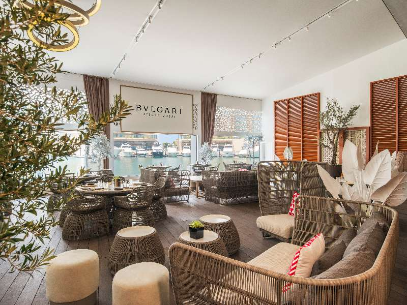 Bvlgari Resort Dubai - Il Cafe indoor terrace