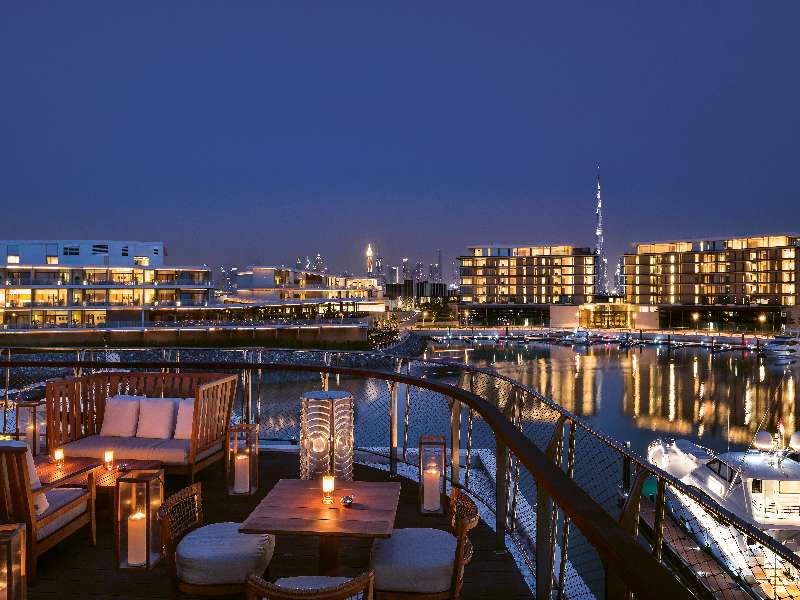 Bvlgari Resort Dubai - Marina & Yacht Club Members Lounge