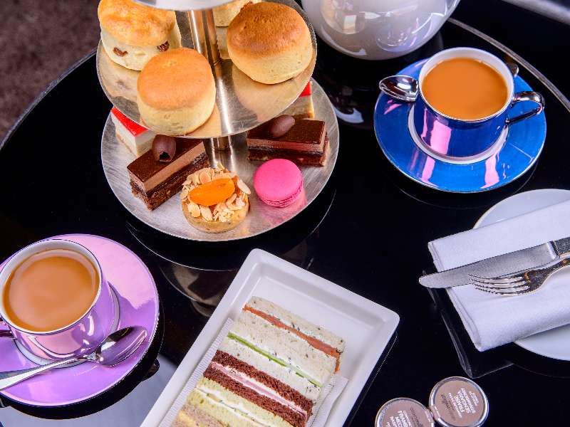 Summer Afternoon Tea Bvlgari Hotel London
