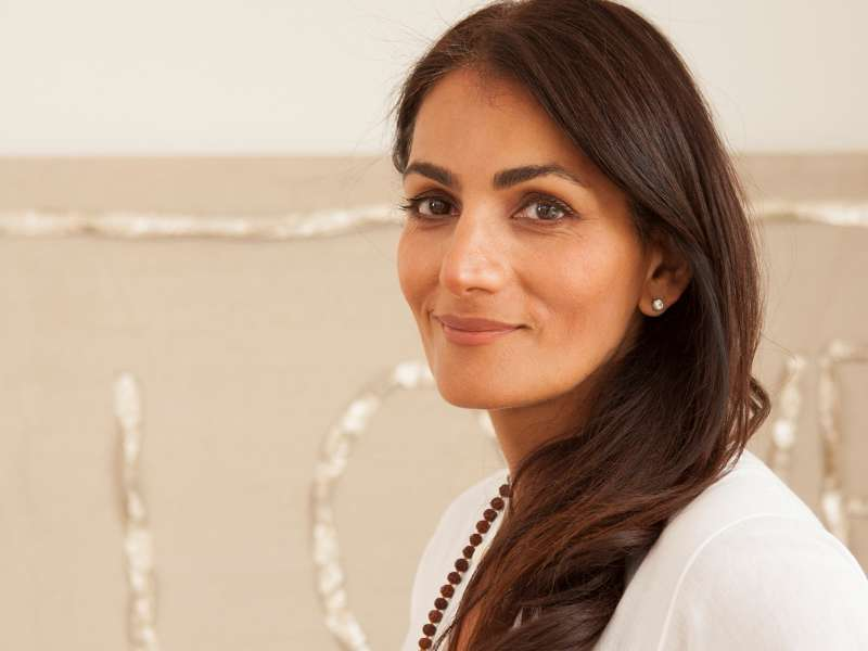 Anita Kaushal portrait for the Bvlgari Spa
