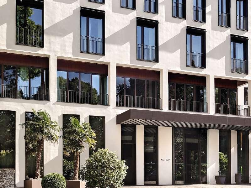 Luxury Hotels In Milan Italy Bvlgari Hotel Milano