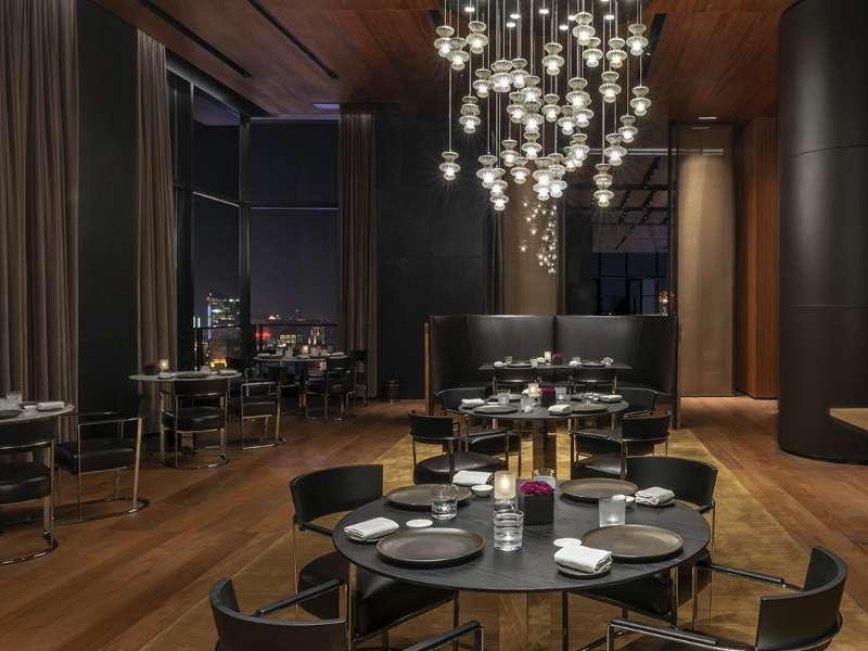 Luxury Italian Restaurant In Shanghai China Bvlgari Hotel