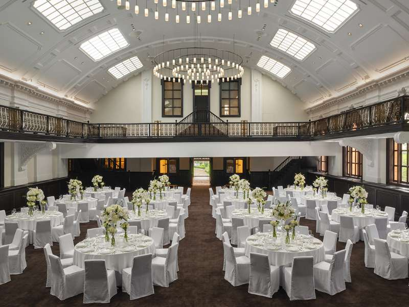 The Bvlgari ballroom at The Bvlgari Hotel Shanghai
