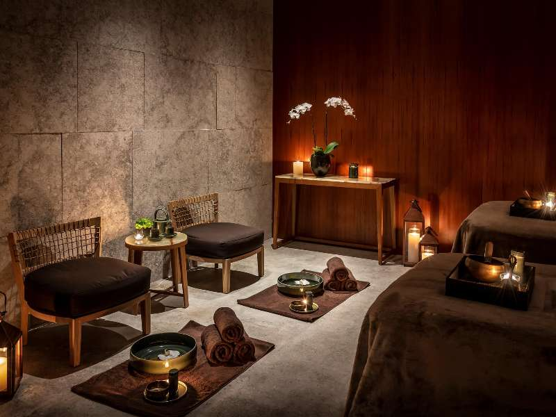The Bvlgari Spa at the Bvlgari Hotel Shanghai