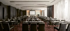 A conference room at The Bvlgari Hotel Shanghai