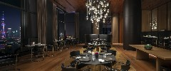 Il Ristorante-Niko Romito by night at The Bvlgari Hotel Shanghai