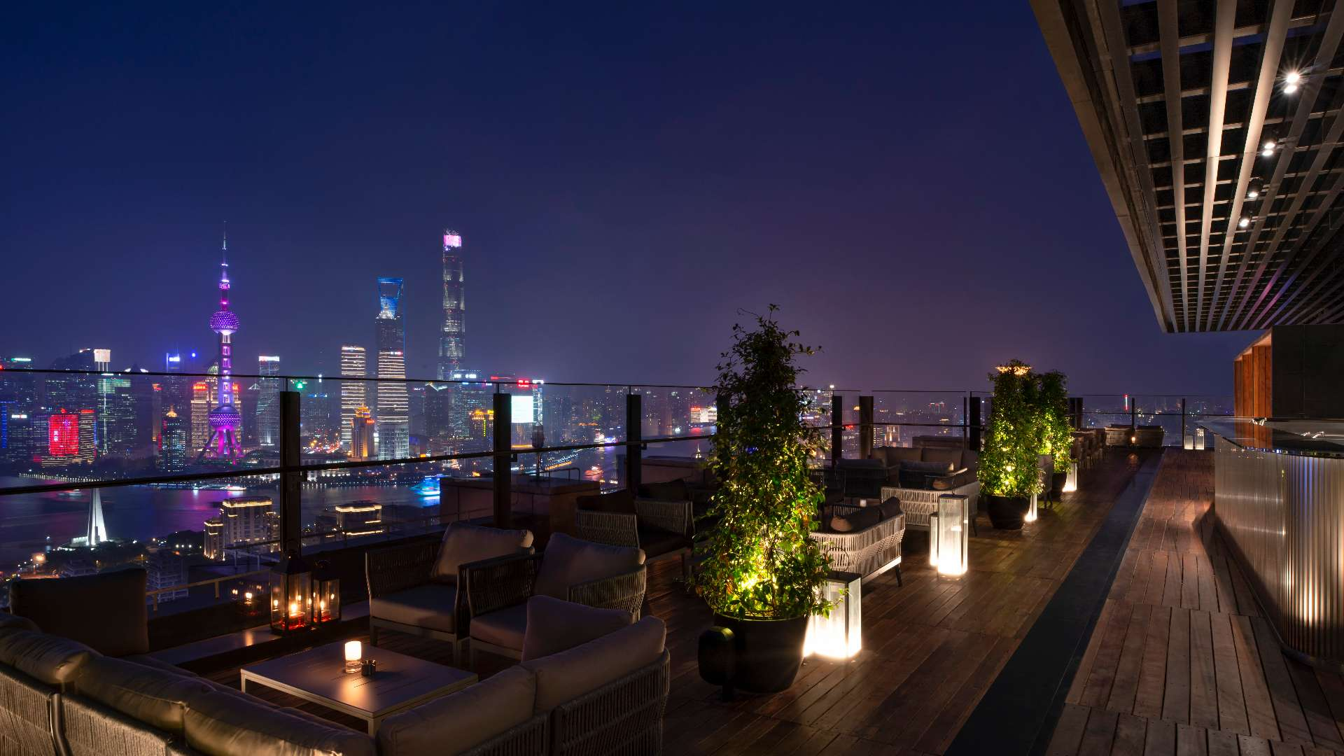 La Terrazza of The Bvlgari Hotel Shanghai