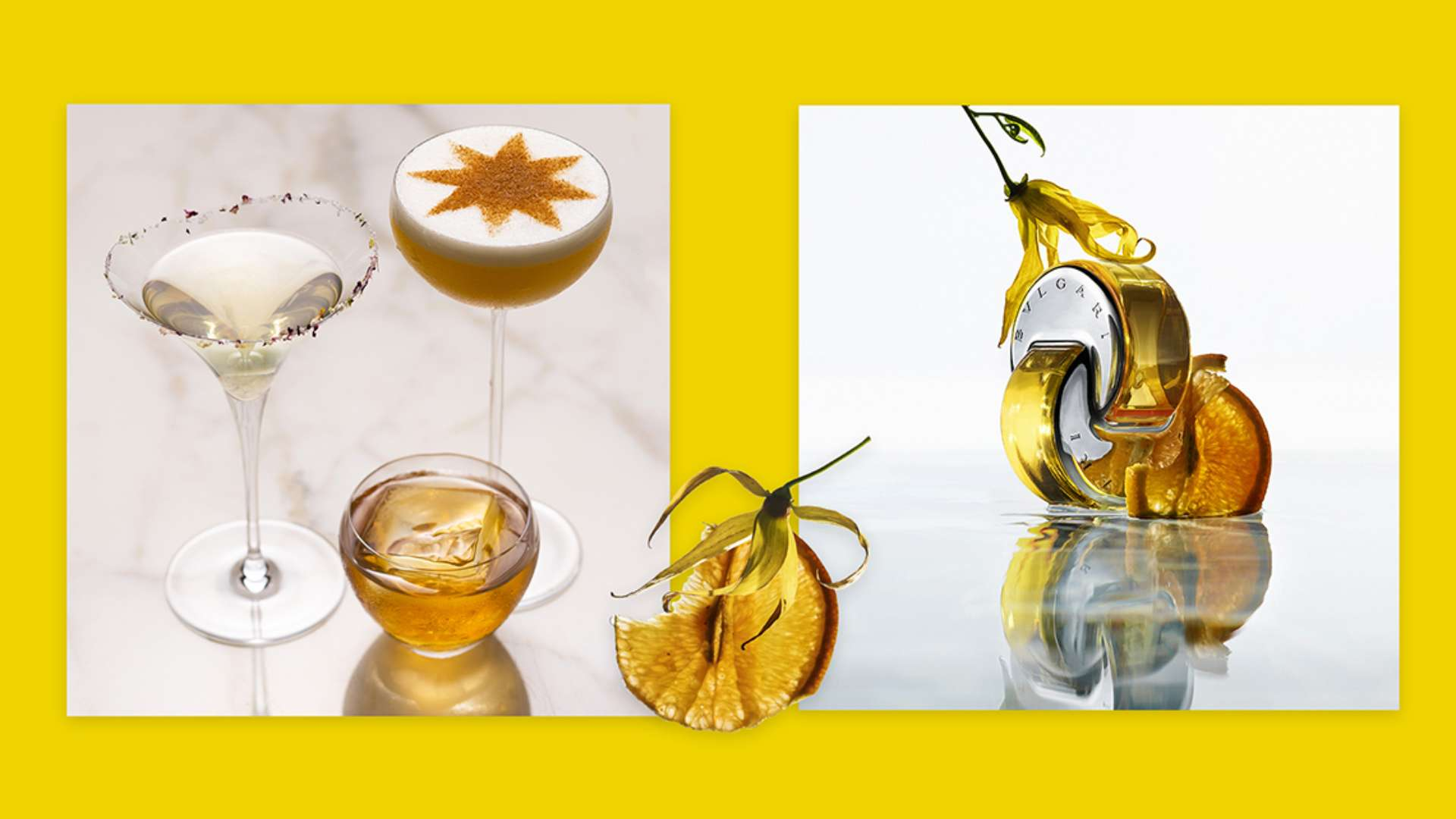 Omnia Golden Citrine Launches — and Inspires Three New Mocktails | 宝格丽东京大阪餐厅