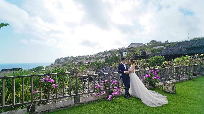Wedding at Bvlgari Resort Bali