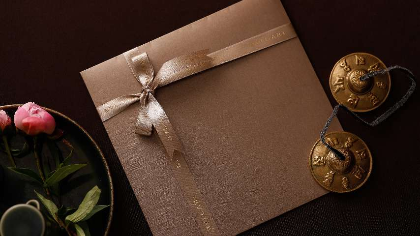 Gift card ath The Bvlgari Hotel Beijing