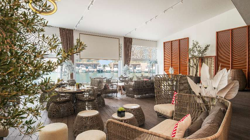 The Bvlgari Resort Dubai - Il Cafe indoor terrace