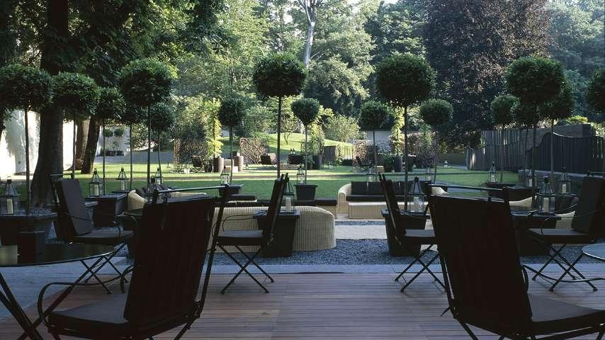 Garden for events aperitif and parties in milan bvlgari for Il giardino milano ristorante