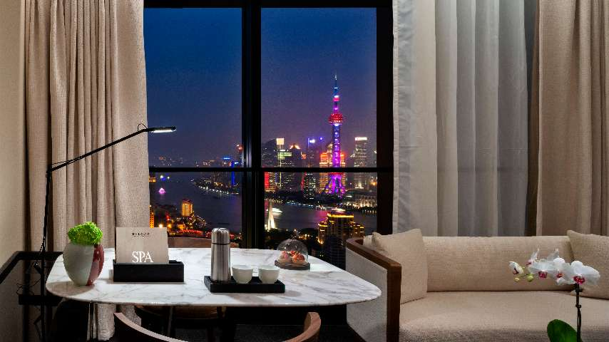 The Bvlgari Hotel Shanghai exclusive amenities