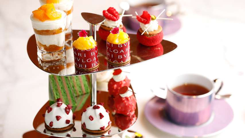 The Festive Afternoon Tea at The Bvlgari Hotel Shanghai